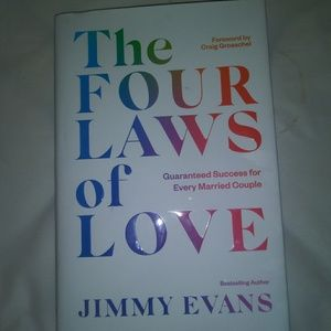 The four laws of Love hardback book by Jimmy Evans